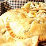 Пирожки с курицей без дрожжей