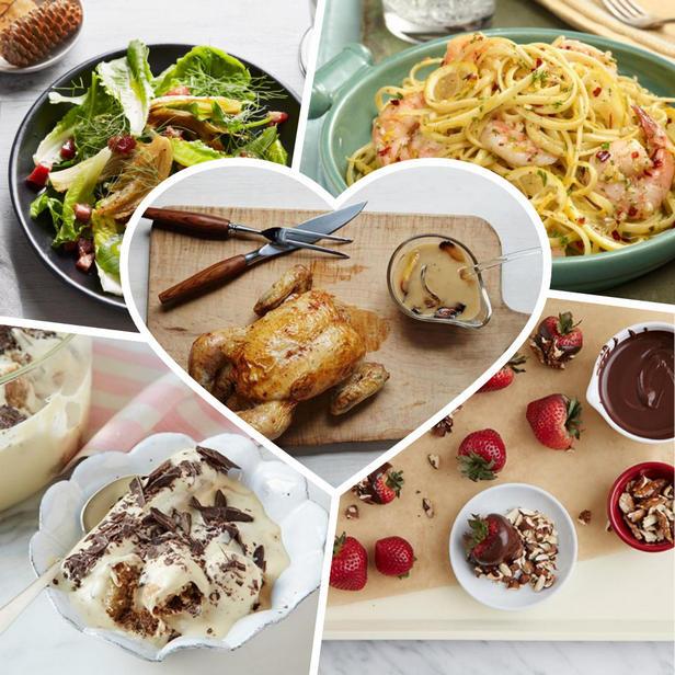 Фото Блюда ко Дню святого Валентина, которые можно готовить вдвоем