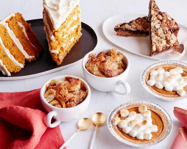 Фото Порционные десерты для двоих