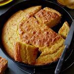 Кукурузный хлеб из сливочной кукурузы