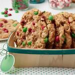 Огромное рождественское печенье