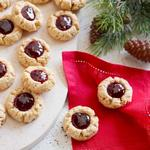 Печенье «Отпечаток пальца» с арахисом и конфитюром