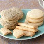 Классическое песочное печенье из 4 ингредиентов с вариантами добавления по 1 дополнительному ингредиенту