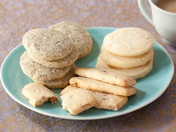 Фото Классическое песочное печенье из 4 ингредиентов с вариантами добавления по 1 дополнительному ингредиенту