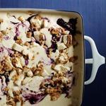 Мороженое с черничным чизкейком без мороженицы