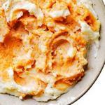 Сладкое картофельное пюре