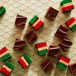 Итальянское многослойное печенье