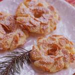 Кукурузное печенье  «Рождественские венки»
