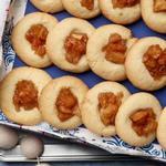 Печенье с яблочным вареньем