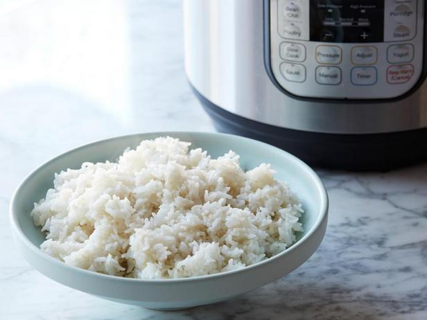 Фотография блюда - Паровой рис в мультиварке