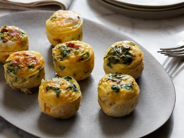 Фотография блюда - Фриттата с грибами в мультиварке