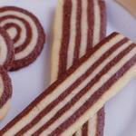 Печенье «Полосатая лента»