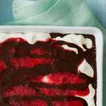 Неаполитанское мороженое с клубникой