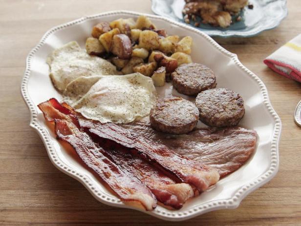 Фотография блюда - Завтрак по-деревенски