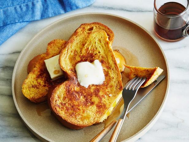 Фотография блюда - Французские тосты с корицей