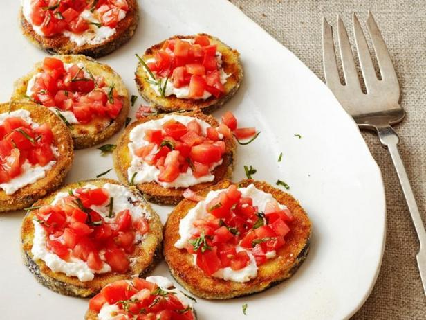 Фотография блюда - Баклажаны с рикоттой