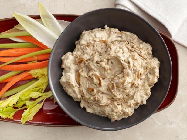 Фотография блюда - Дип-соус с жареным луком