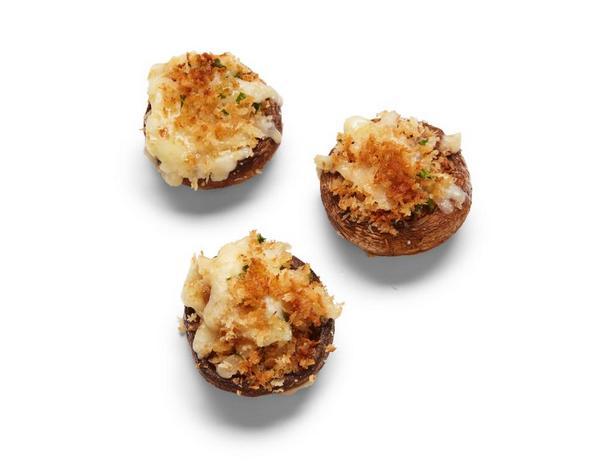 Фотография блюда - Сырное фондю в грибных шляпках