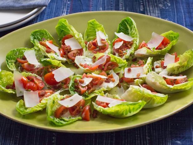 Фотография блюда - Порционный салат «Би-Эл-Ти»
