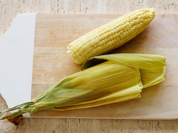 7: Очистка кукурузы