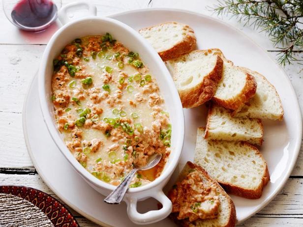 Фотография блюда - Новоорлеанский дип из креветок со вкусом барбекю