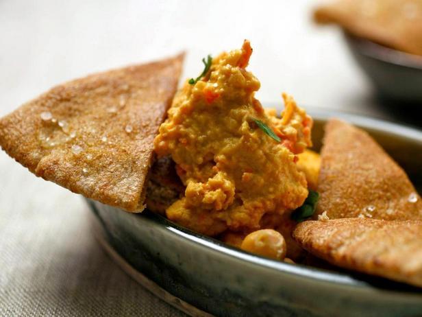 Фотография блюда - Хумус из нута и сладкого перца