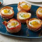Маффины из бекона и яйца (диета Whole30)