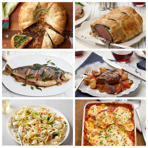 Фото Впечатляющие и простые основные блюда для званого обеда