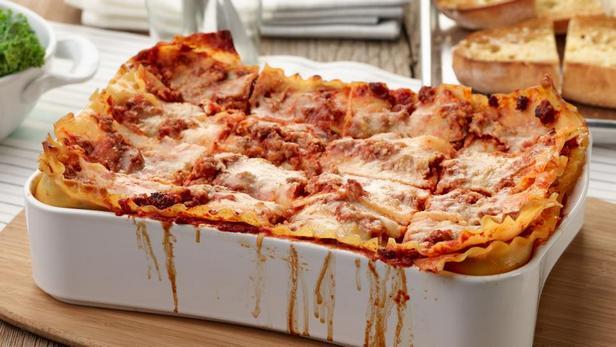 Фото блюда - Лазанья с тремя сырами