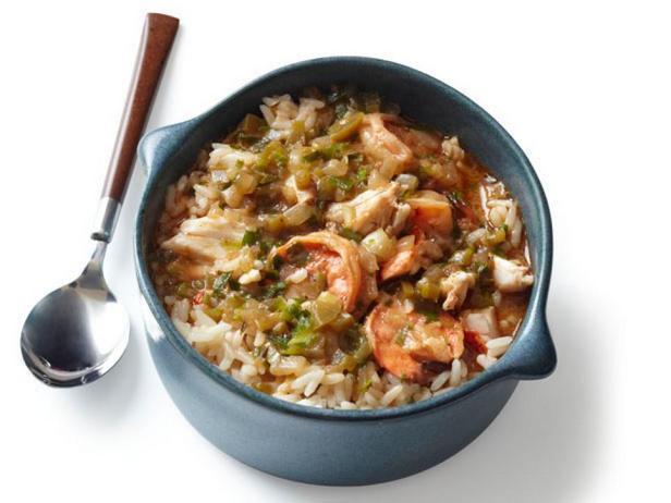 Фото блюда - Гамбо из морепродуктов