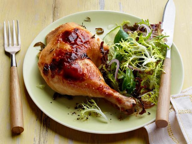 Фото блюда - Курица в медово-лаймовом маринаде в духовке