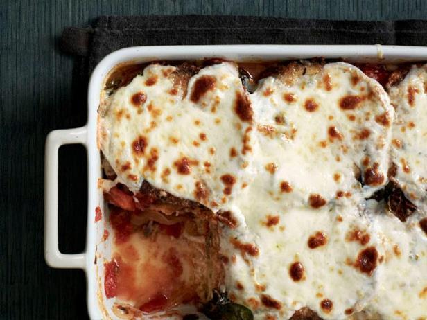 Фото блюда - Пармиджано с баклажанами