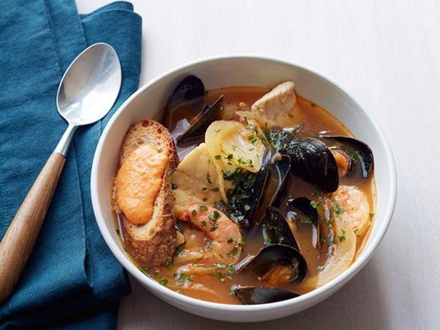 Фото блюда - Буйабес - марсельская уха