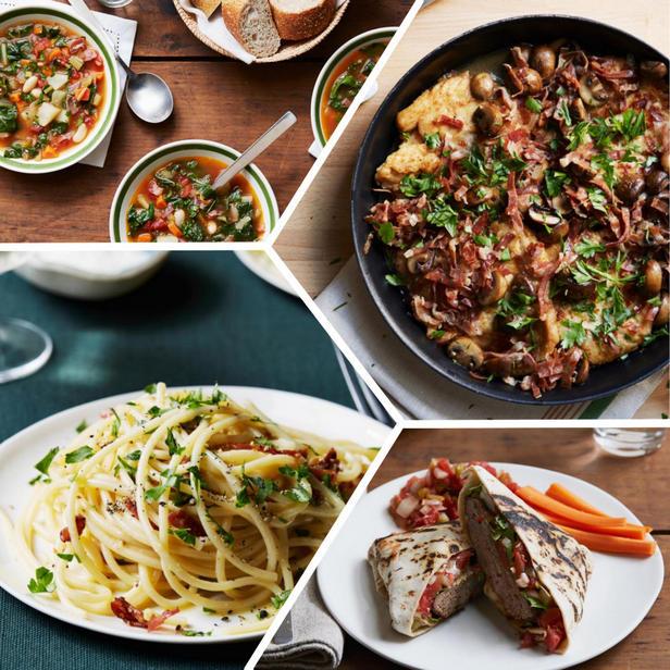 Фото Блюда для зимнего ужина, которые готовятся меньше часа