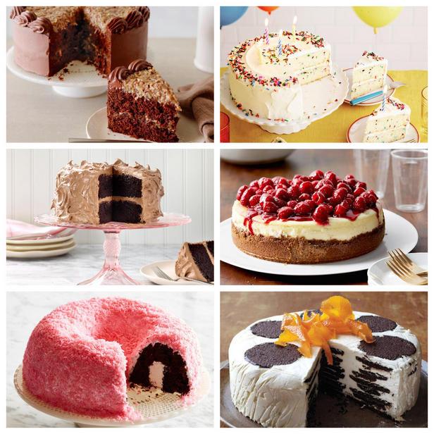 Фото Праздничные торты для большой компании