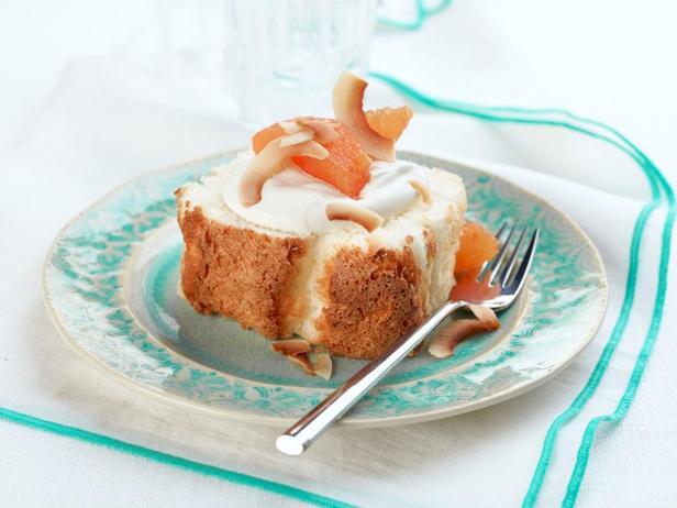 Фотография блюда - Торт «Пища ангела»