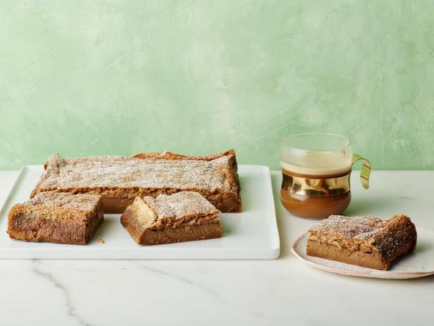 Фотография блюда - Волшебный пирог-торт со вкусом капучино или умный пирог