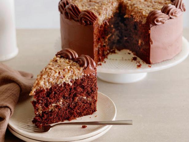 Фотография блюда - Шоколадный торт «Герман»