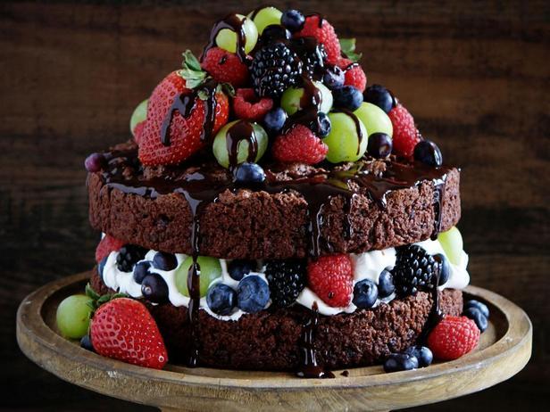 Фотография блюда - «Голый» шоколадный торт