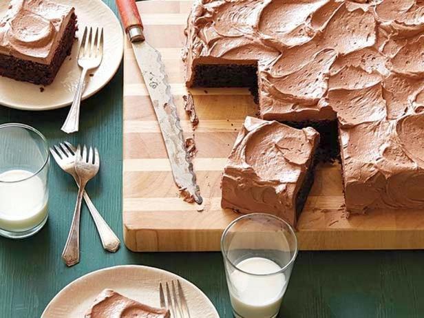 Фотография блюда - Шоколадный торт из колы