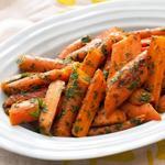 Глазированная морковь с мятной гремолатой