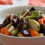 Печёные овощи «Самоцветы»