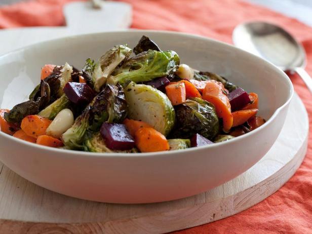 Фото Печёные овощи «Самоцветы»