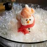 Пунш со снеговиком