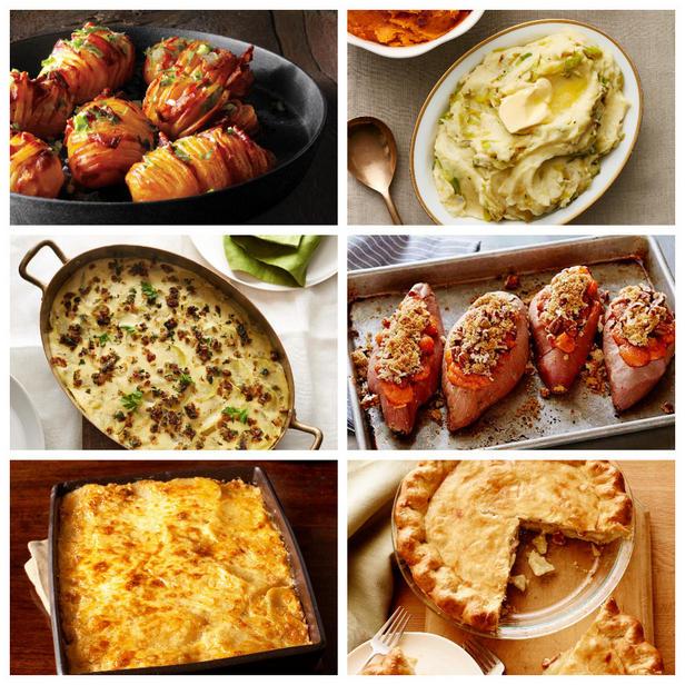 Фото Лучшие рецепты гарниров с картофелем и бататом