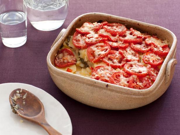Фотография блюда - Прованский картофельный гратен