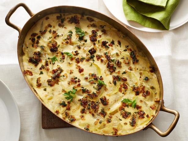 Фотография блюда - Веганский картофельный гратен