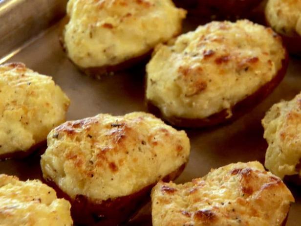 Фотография блюда - Дважды запечённый молодой картофель