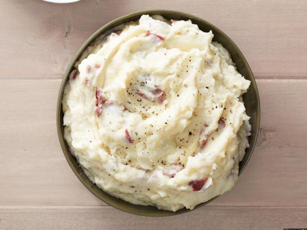 Фотография блюда - Картофельное пюре с пармезаном