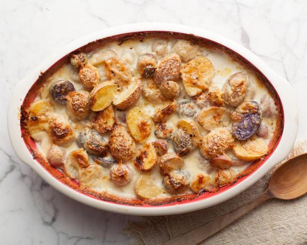 Фотография блюда - Осенний гратен из картофеля